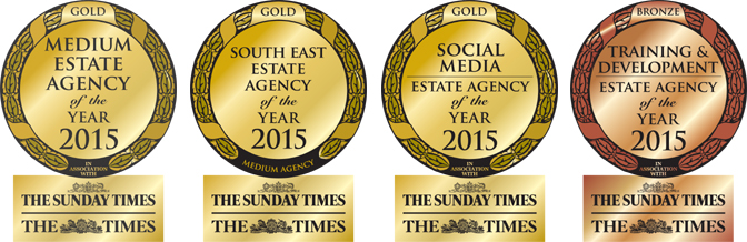 How did the Golden Globes compare to Estate Agency of the Year Awards 2015?